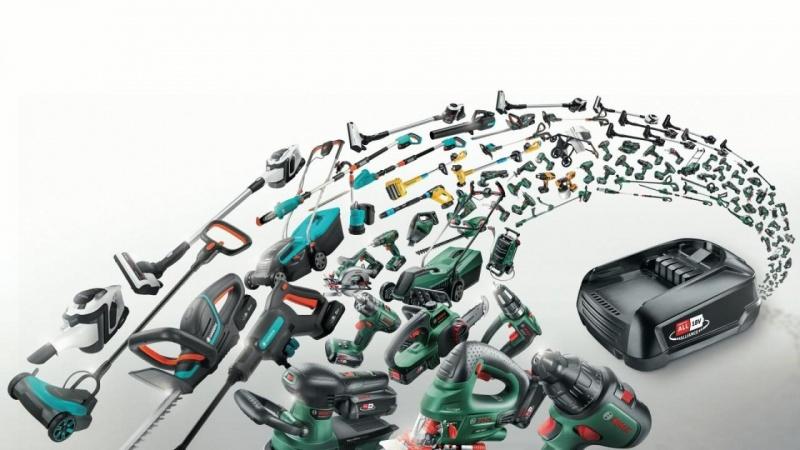 Bosch og Gardena med fælles batteriløsning