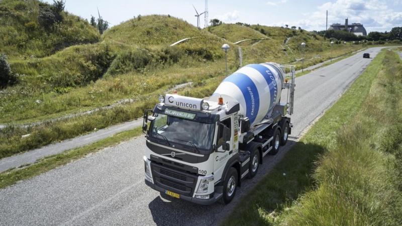 Unicon udruller hybride betonbiler