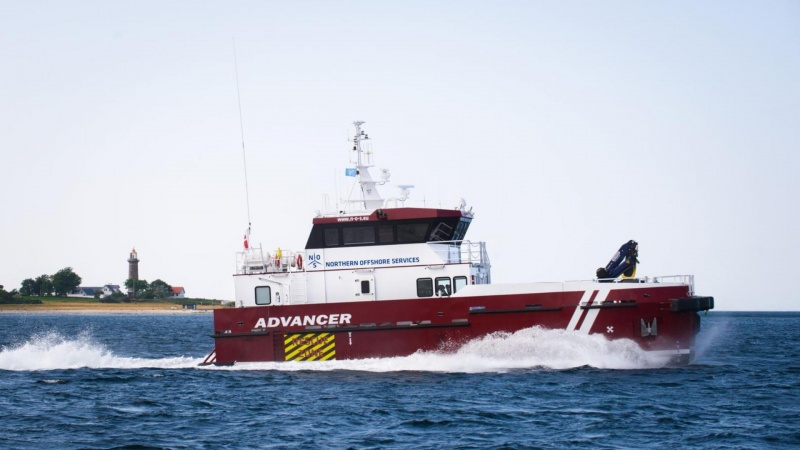 Dansk og tysk firma sikrer sejladsen ved tunnel-byggeri