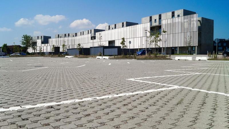 Campusparkering har fået klimasikring