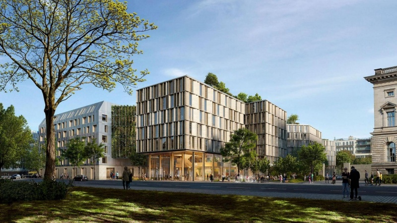 C.F. Møller skal bygge et nyt ministerium i Berlin