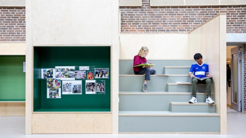 Nomineret skole er renoveret fra top til tå