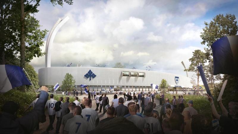 Årstiderne Arkitekter tegner Kolding IF's fremtidige stadion