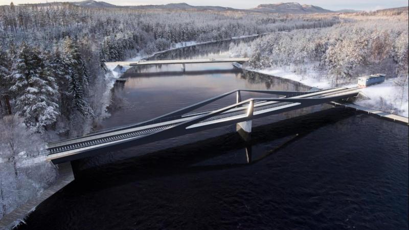 Dansk trio vinder konkurrence om svensk jernbanebro