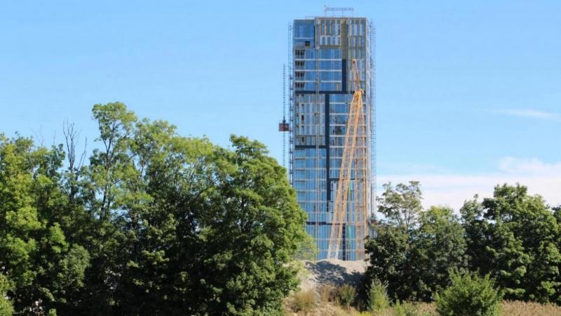 Bach Gruppen præsenterer fundamentløsning for Njalstårnet