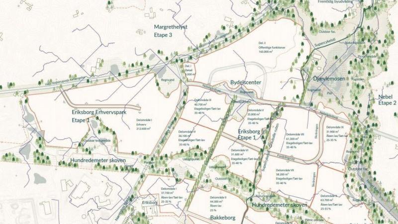I Silkeborg er man et skridt nærmere 1200 nye boliger