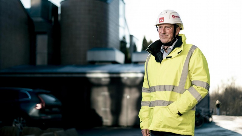 Rockwool produceres nu med vandkraft i Norge