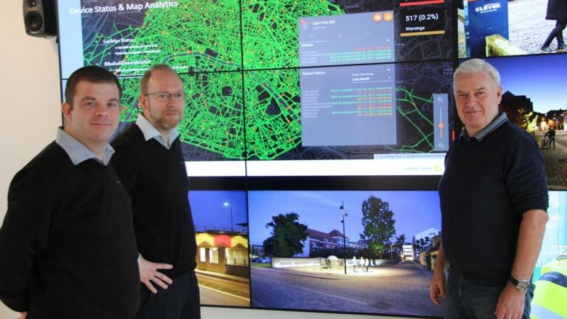 Intelligent belysning i smart cities