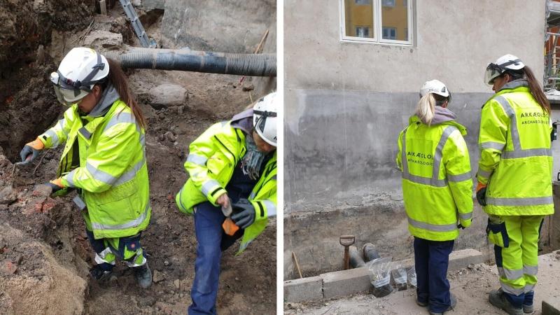 Knogler ved kældertrappen - så blev arkæologerne tilkaldt