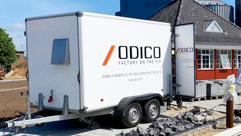 Fliseskære-robot nomineret til teknologipris