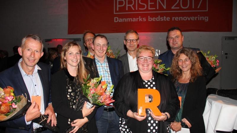 Landsbyskole vandt Renoverprisen 2017