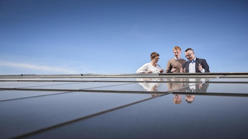 International hæder skal bane vej for midtjysk solcelletag