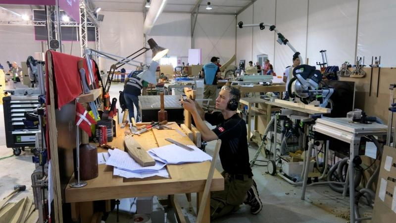 Nyt fra World Skills: Frederik sigter mod toppen