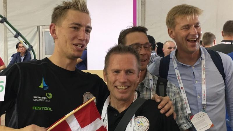 10 medaljer til unge danske håndværkere ved VM i Skills