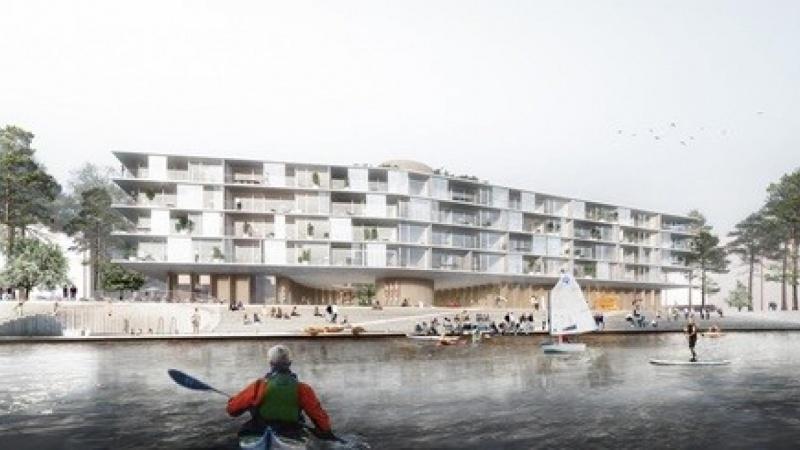Tegnestuen WERK vinder udbud på Nordhavn