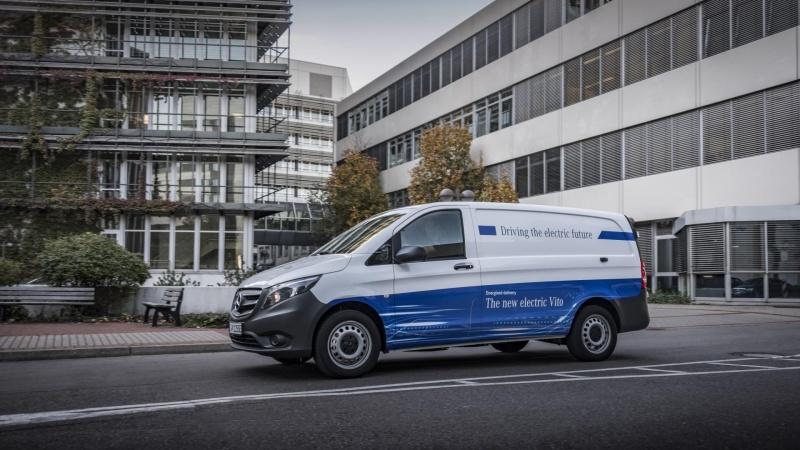 Mercedes går 'all in' på el-varebiler