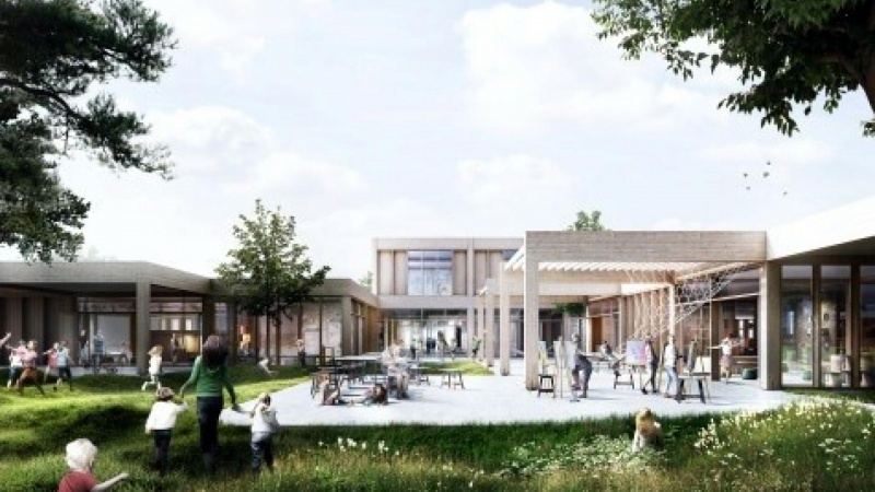 Arkitema totalrådgivere på skolebyggeri
