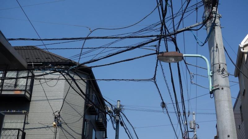 Tokyos filterværk af elkabler skal væk