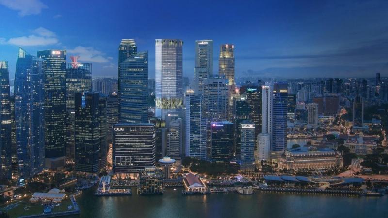 BIG bag Singapore-skyskraber