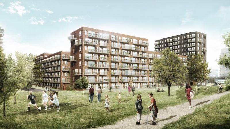 Stenuldsløsning satte fart på byggeri i Ørestad
