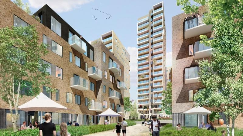 Entreprenør opfører 300 boliger i Odense