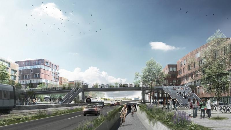 Hærvejsbroen binder Viborg bedre sammen