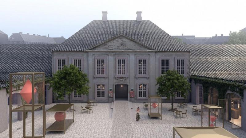 Cobe tegner ny plads og indgang til museum