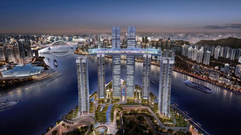 Vandret skyskraber åbner i 2019
