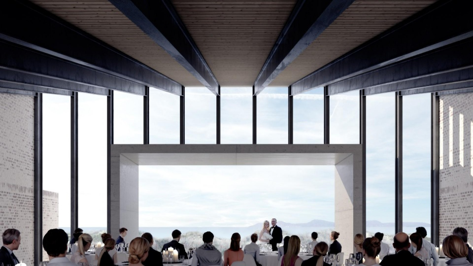 5af74b198a3 Små 80 millioner kroner, som fonden bag museet skal ud at finde. Foto: Kim  Utzon Arkitekter.