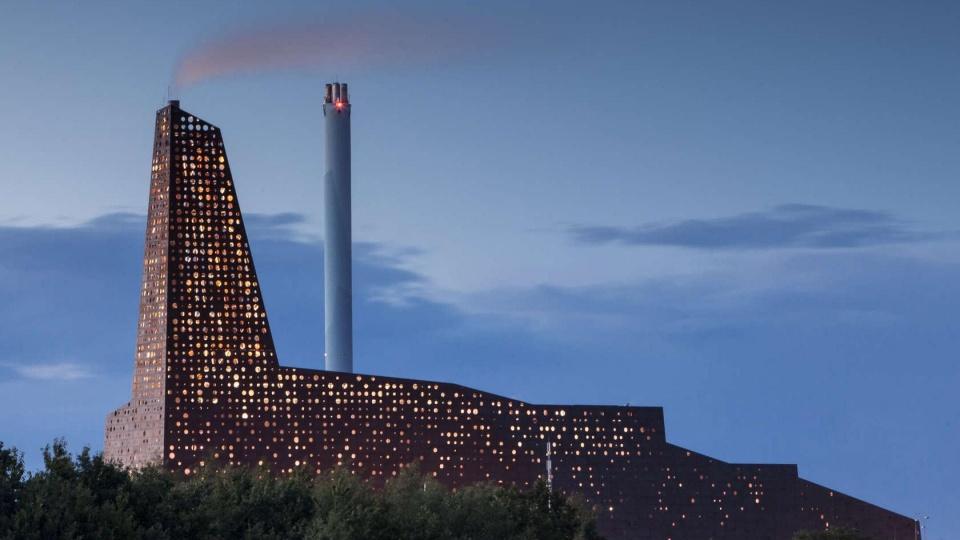 Lyspris Til Energitårnet Dagens Byggeri