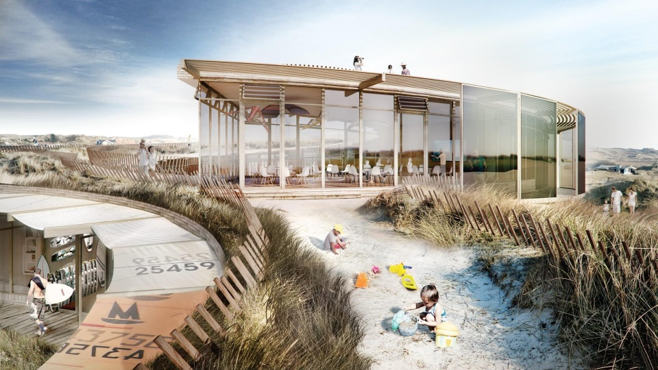 Glimrende Strandhus i vandkanten | Dagens Byggeri JK-26