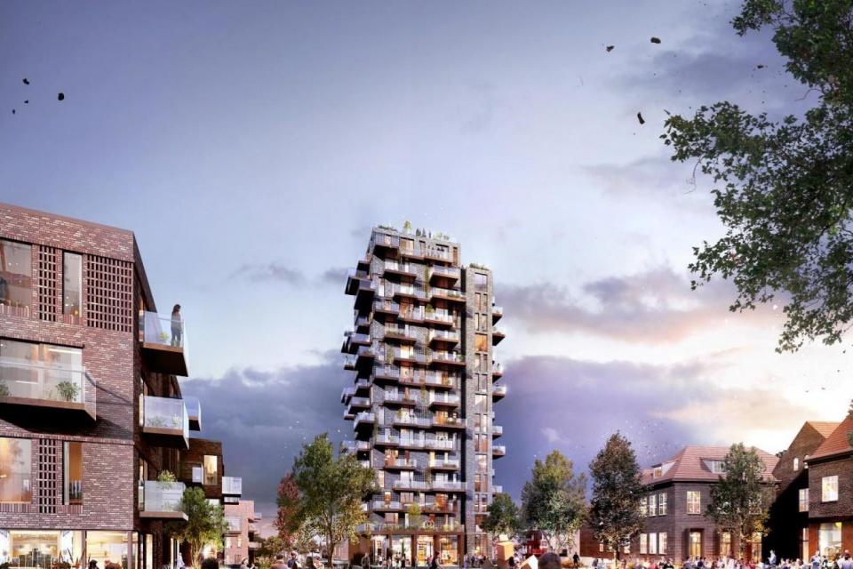 Herning-højhus mister 10 etager som følge af naboklager